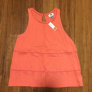 NWT Old Navy Coral Tank Top